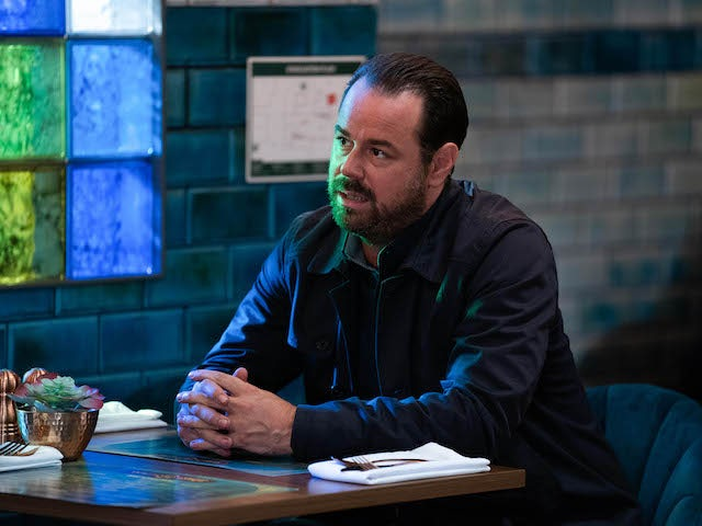 Mick on EastEnders on November 3, 2020