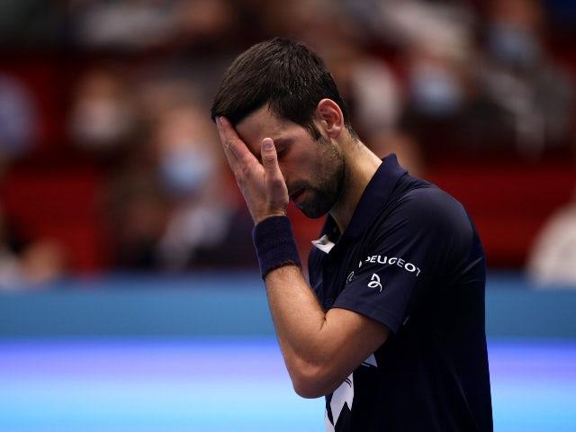 Tennis roundup: Novak Djokovic suffers shock defeat to Lorenzo Sonego in Vienna