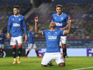 Alfredo Morelos equals Rangers record in Europa League win over Lech Poznan