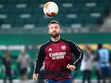 Arsenal defender Shkodran Mustafi pictured in October 2020