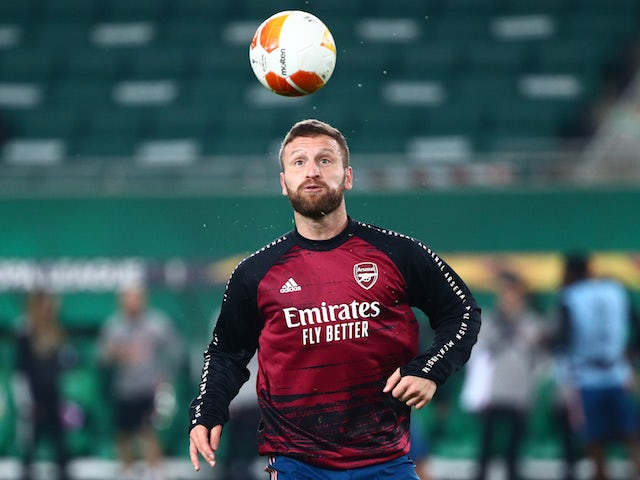Shkodran Mustafi: 'There have been no talks over new Arsenal deal'