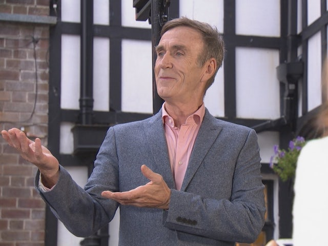 Edward on Hollyoaks on November 2, 2020