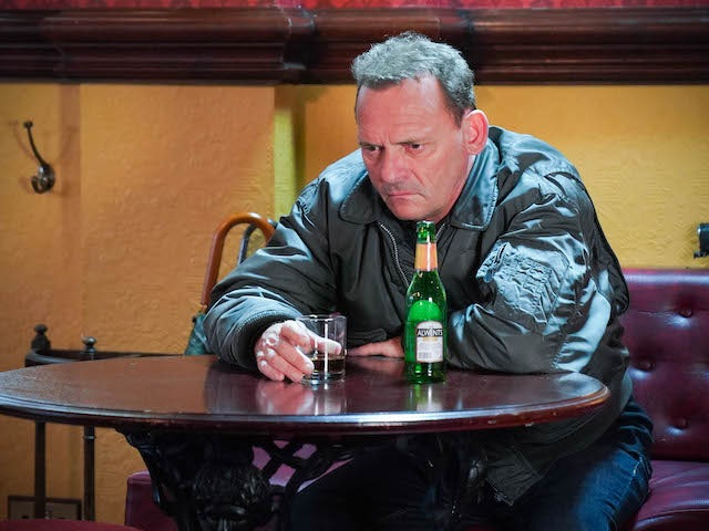 Billy on EastEnders on November 2, 2020