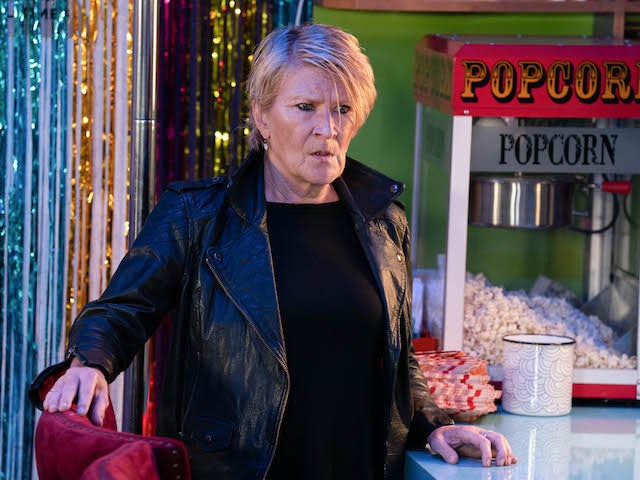 Shirley on EastEnders on November 5, 2020