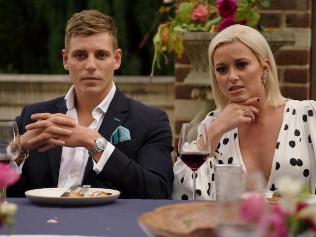 Tristan Phipps and Olivia Bentley on Made In Chelsea S20E06