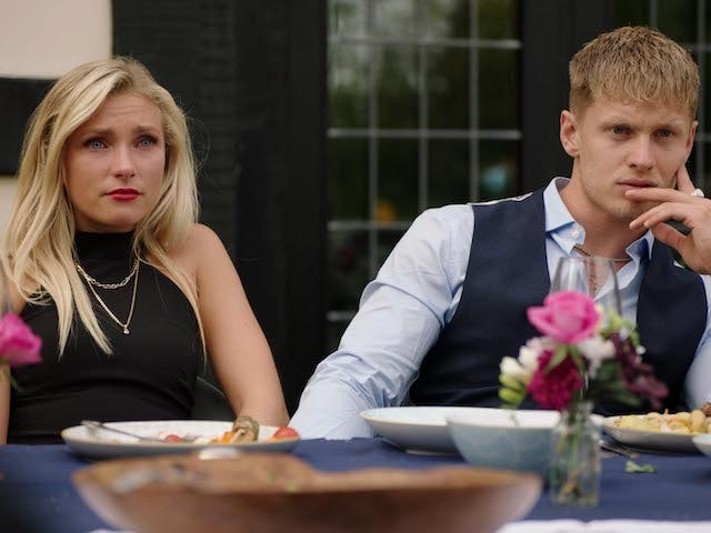 Verity Scarlett Bowditch and Charlie Frederick on Made In Chelsea S20E06