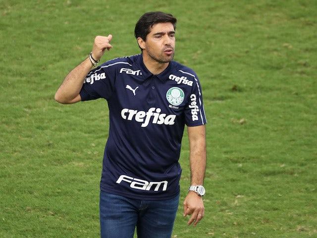 Palmeiras head coach Abel Ferreira pictured on November 8, 2020