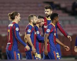 How Barcelona could line up against Ferencvaros