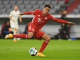 Bayern Munich's Jamal Musiala pictured in October 2020