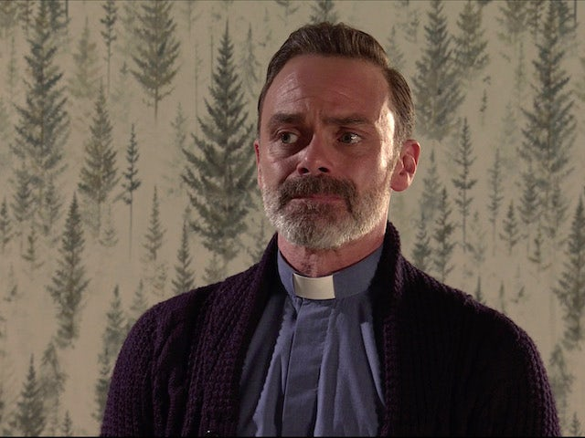 Billy on the second episode of Coronation Street on November 9, 2020
