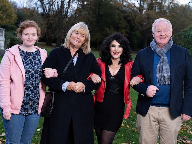 ITV confirms Birds of a Feather Christmas special