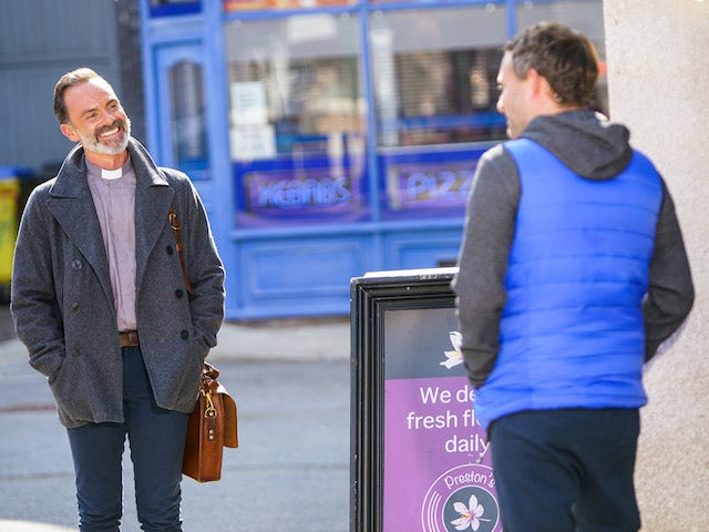 Billy and Paul on Coronation Street on November 11, 2020