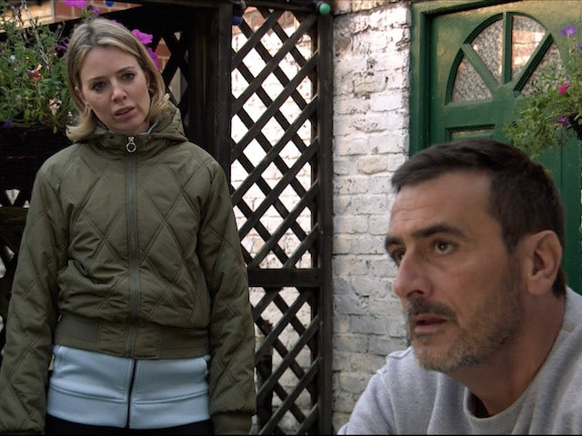 Abi and Peter on the second episode of Coronation Street on November 18, 2020
