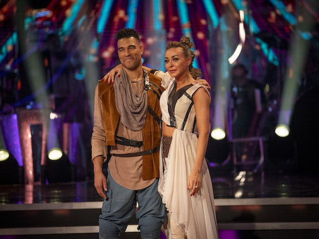 Second celebrity voted off Strictly Come Dancing