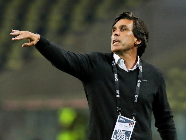Daniel Ramos, now in charge of Santa Clara, pictured as Boavista boss in June 2020