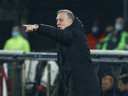 Feyenoord manager Dick Advocaat pictured in October 2020