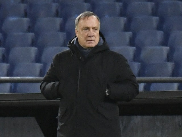 Feyenoord head coach Dick Advocaat pictured on November 5, 2020