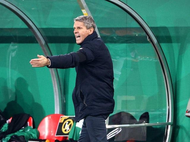Rapid Vienna manager Dietmar Kuhbauer pictured on November 5, 2020