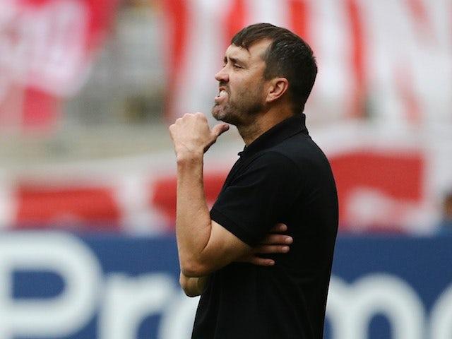 Internacional manager Eduardo Coudet pictured on November 8, 2020