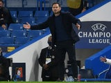 Chelsea manager Frank Lampard pictured on November 4, 2020