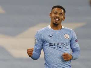 Gabriel Jesus makes goalscoring return as Man City cruise past Olympiacos