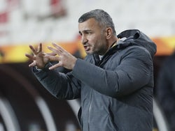 Qarabag manager Gurban Gurbanov pictured on November 5, 2020