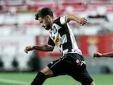 Gustavo Sauer pictured in action for Boavista in June 2020