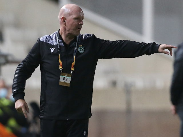 Omonia Nicosia manager Henning Berg pictured on November 5, 2020