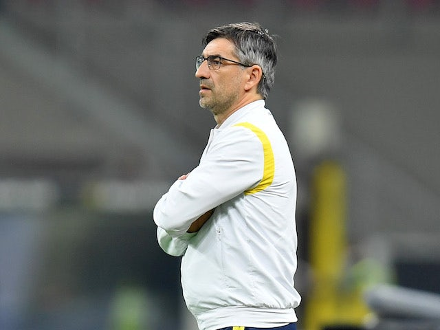 Hellas Verona manager Ivan Juric pictured on November 8, 2020