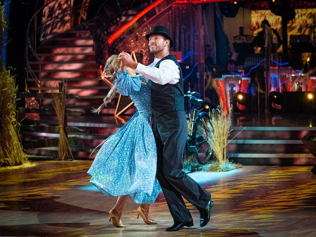 JJ Chalmers and Amy Dowden on Strictly Come Dancing week three on November 7, 2020