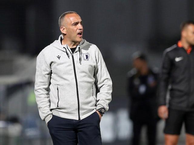 Famalicao head coach Joao Pedro Sousa pictured in June 2020