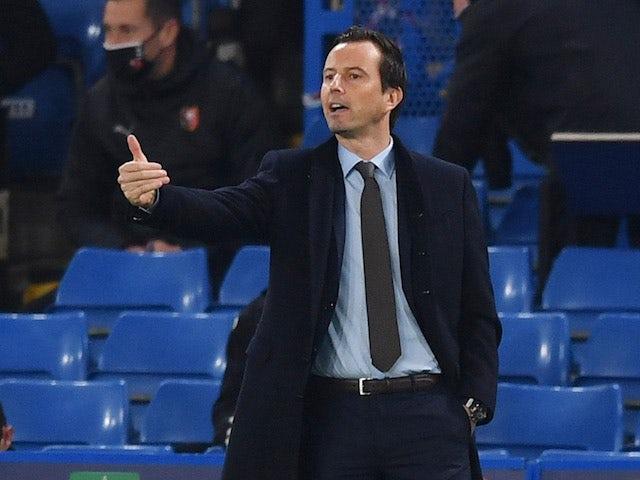 Rennes head coach Julien Stephan pictured on November 4, 2020