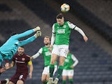 Kevin Nisbet pictured for Hibernian in October 2020