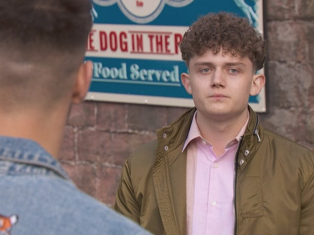 Tom on Hollyoaks on November 10, 2020