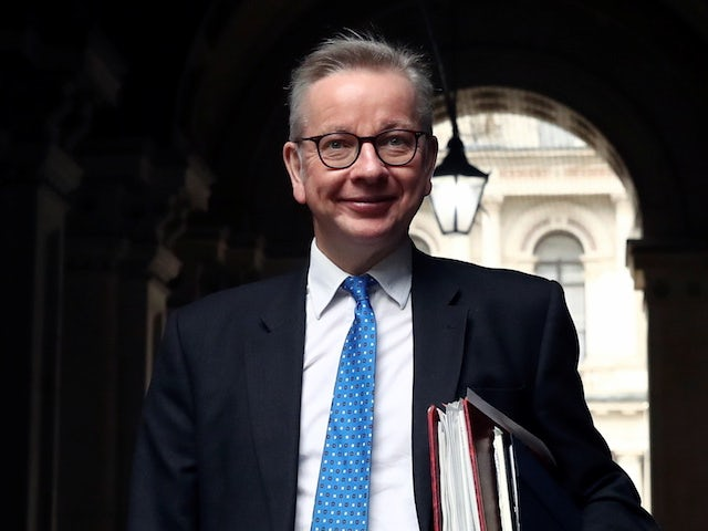Michael Gove apologises for giving incorrect lockdown rules for golf and tennis
