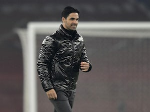 Mikel Arteta pays tribute to returning fans as Arsenal beat Rapid Vienna