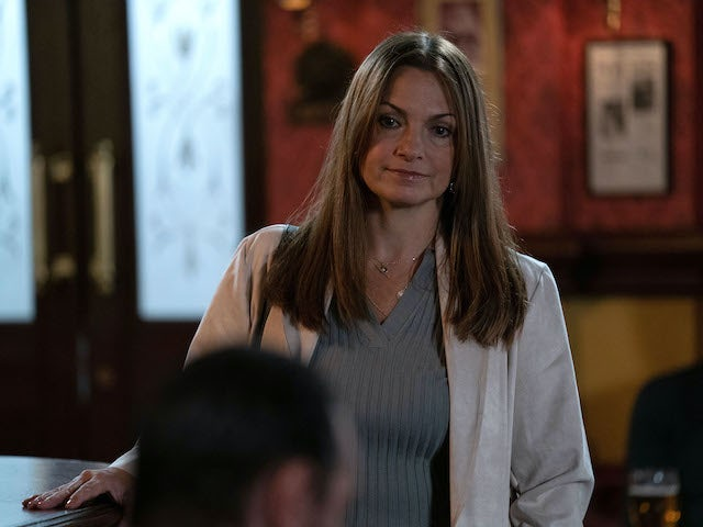 Katy Lewis on EastEnders on November 10, 2020