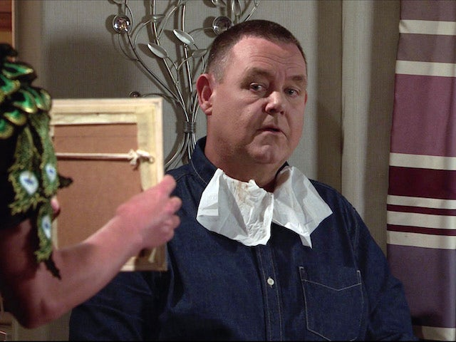 George on the second episode of Coronation Street on November 9, 2020