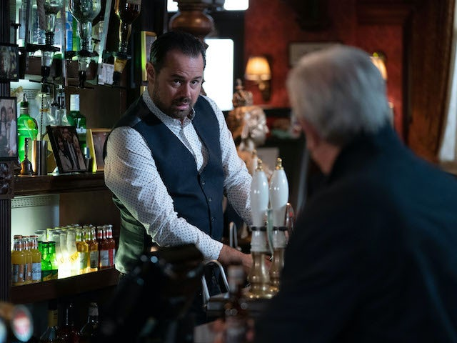 Mick on EastEnders on November 12, 2020