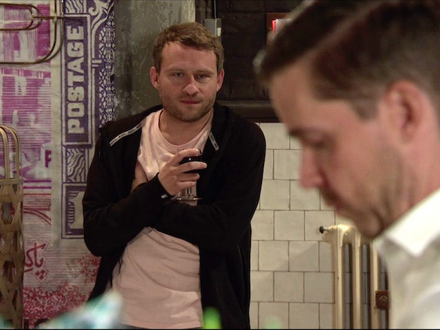 Paul on the second episode of Coronation Street on November 9, 2020