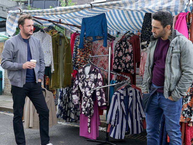 Martin and Kush on EastEnders on November 12, 2020