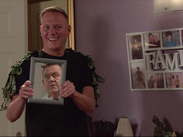 Sean on the second episode of Coronation Street on November 9, 2020