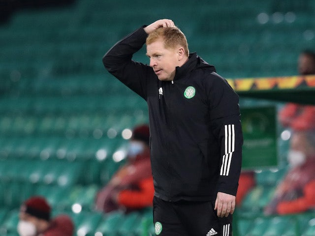 Celtic manager Neil Lennon pictured on November 5, 2020