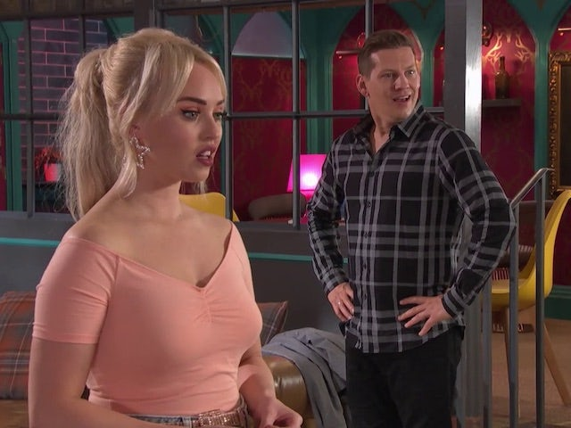 John Paul and Theresa on Hollyoaks on November 9, 2020