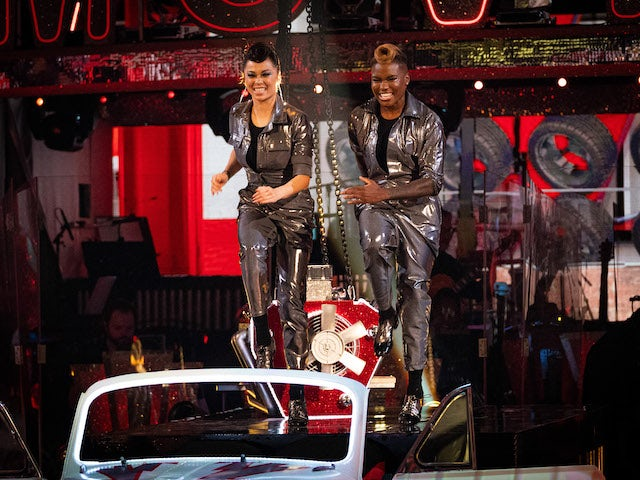 Nicola Adams and Katya Jones on Strictly Come Dancing week three on November 7, 2020