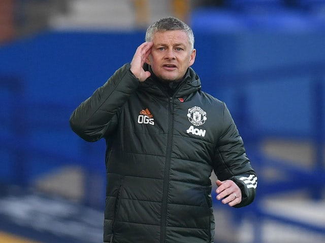 Manchester United manager Ole Gunnar Solskjaer pictured on November 7, 2020