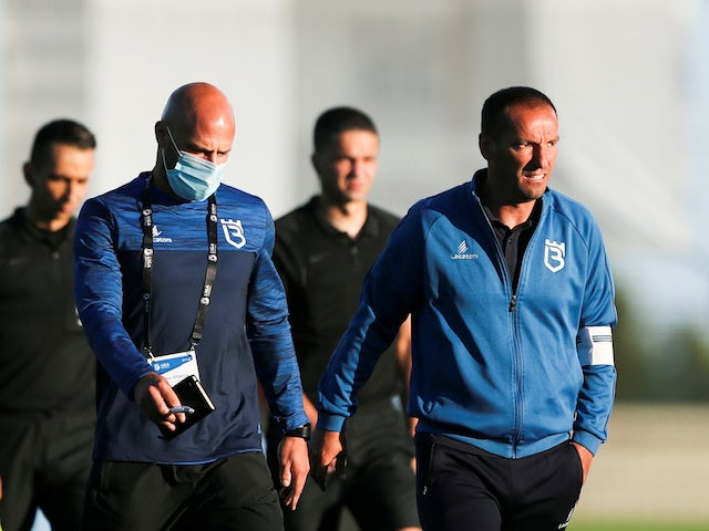 Belenenses head coach Petit pictured in June 2020