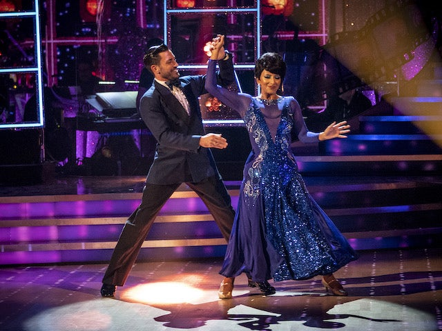 Ranvir Singh and Giovanni Pernice on Strictly Come Dancing week three on November 7, 2020