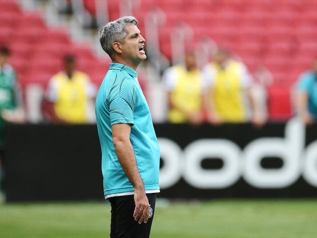 Coritiba head coach Rodrigo Marques pictured on November 8, 2020