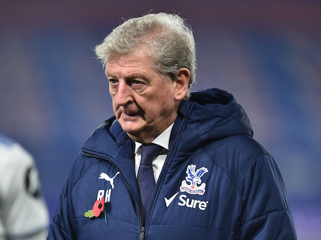 Crystal Palace manager Roy Hodgson pictured on November 7, 2020